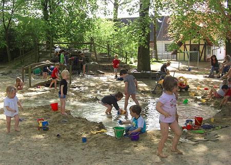 Außengelände kindergarten gestalten